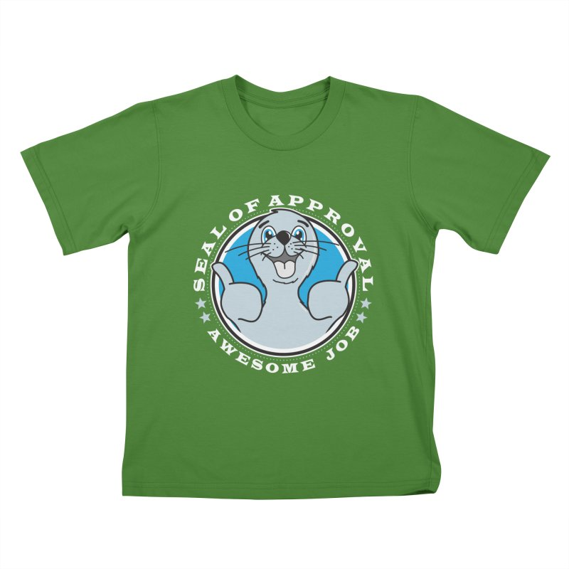 Seal of Approval Kids T-Shirt by detourshirts's Artist Shop