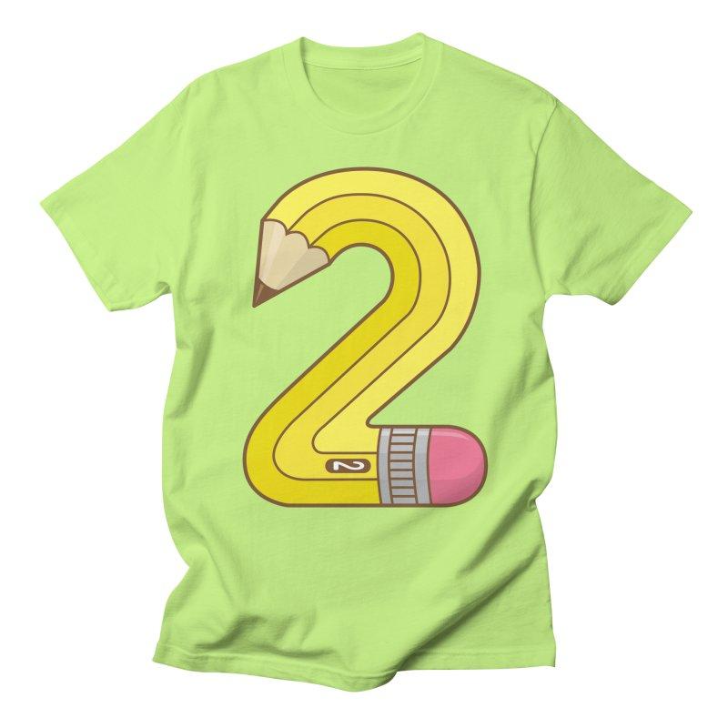 #2 Pencil Men's T-Shirt by Detour Shirt's Artist Shop