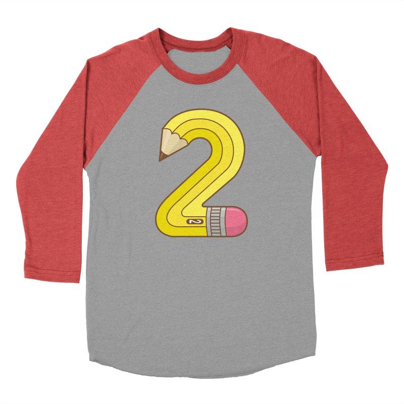 #2 Pencil Men's Longsleeve T-Shirt by Detour Shirt's Artist Shop