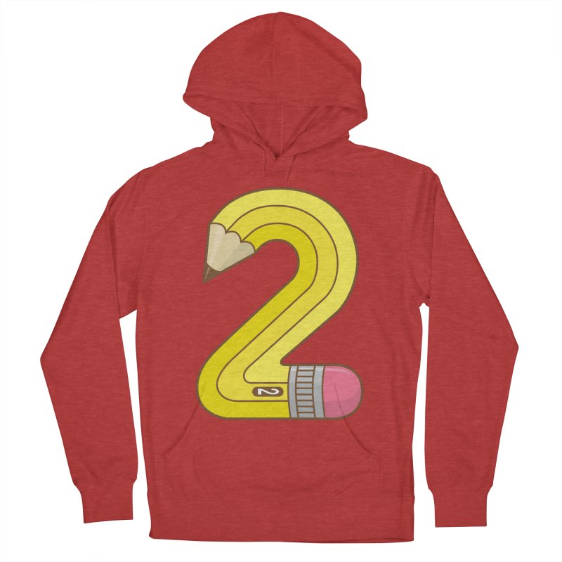 #2 Pencil Women's Pullover Hoody by detourshirts's Artist Shop