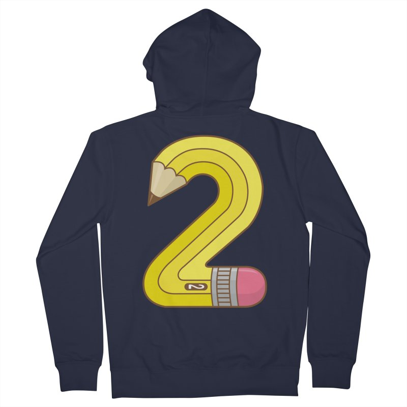 #2 Pencil Women's Zip-Up Hoody by detourshirts's Artist Shop