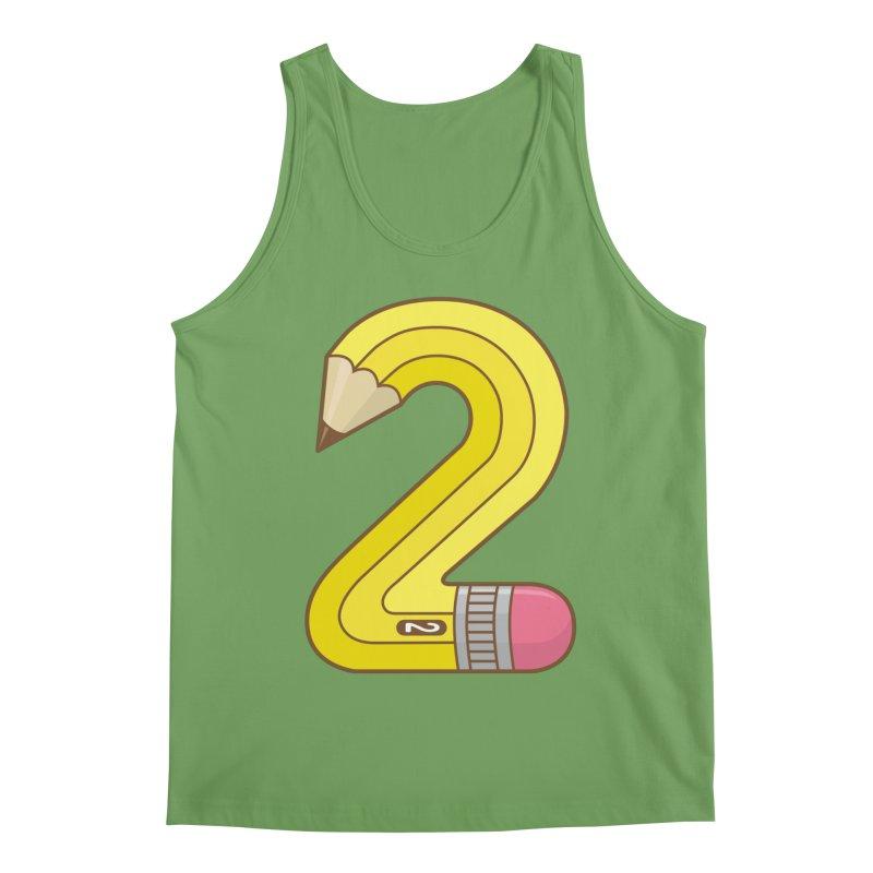 #2 Pencil Men's Tank by Detour Shirt's Artist Shop
