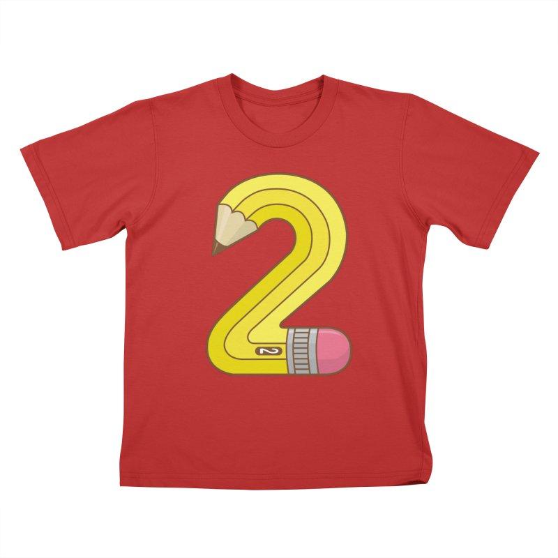 #2 Pencil Kids T-Shirt by Detour Shirt's Artist Shop