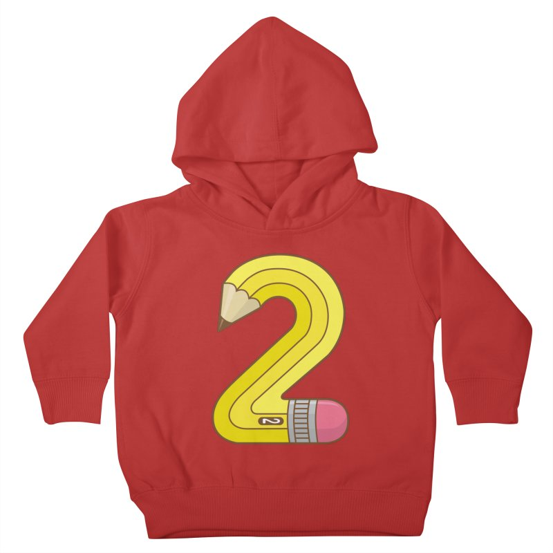 #2 Pencil Kids Toddler Pullover Hoody by detourshirts's Artist Shop