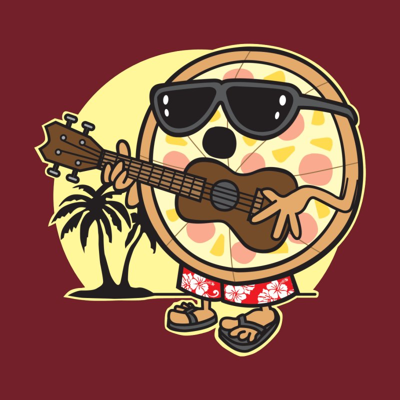 Hawaiian Pizza Men's T-Shirt by detourshirts's Artist Shop
