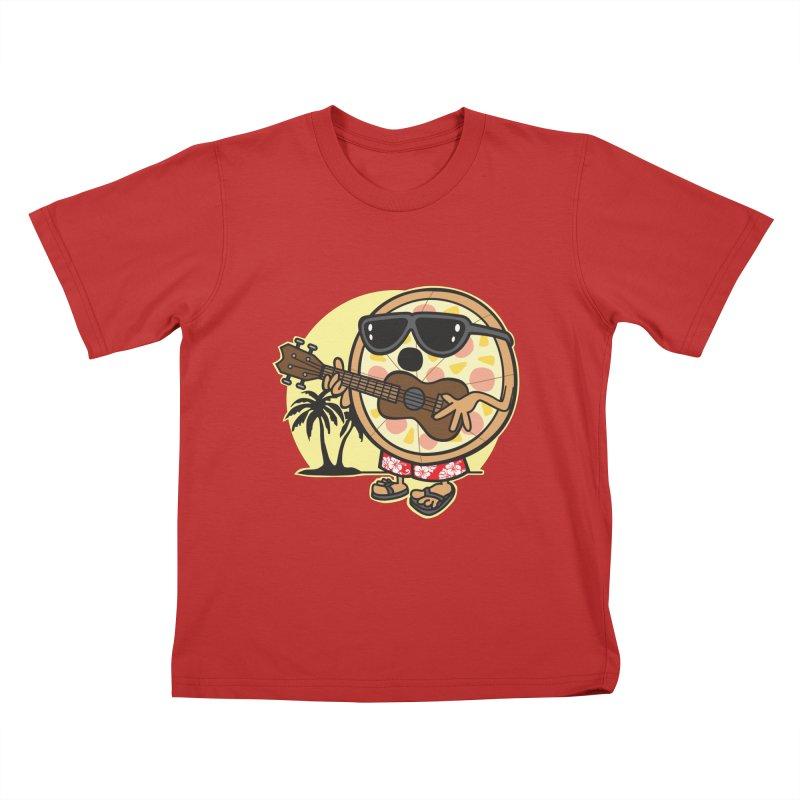Hawaiian Pizza Kids Toddler T-Shirt by detourshirts's Artist Shop