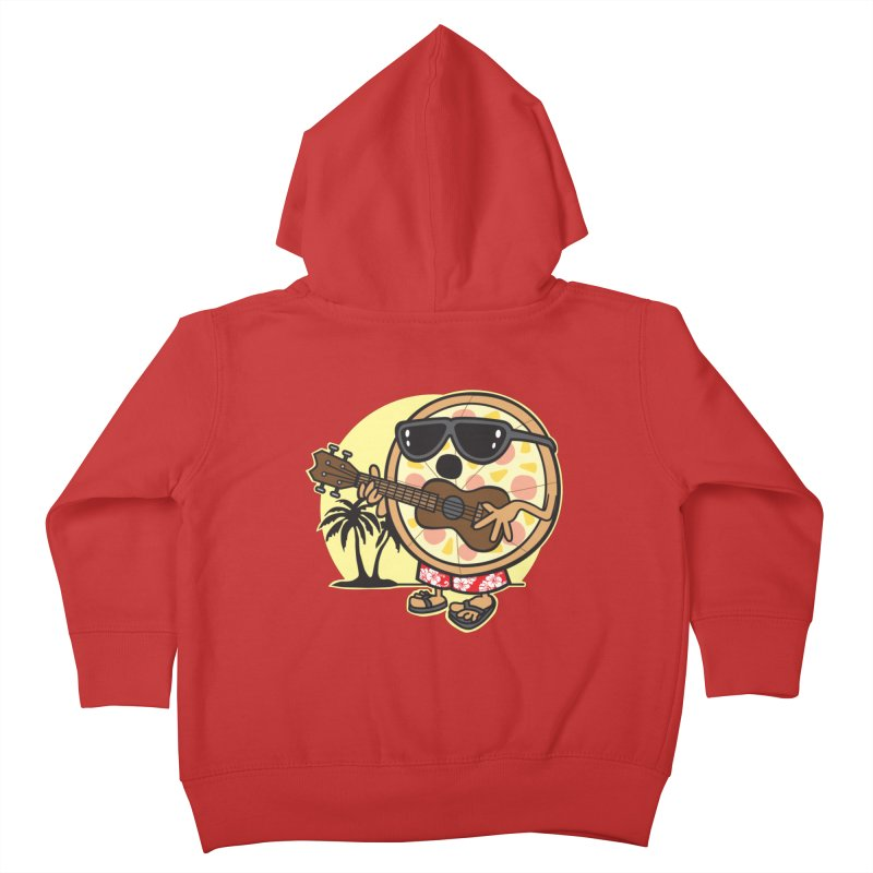 Hawaiian Pizza Kids Toddler Zip-Up Hoody by detourshirts's Artist Shop