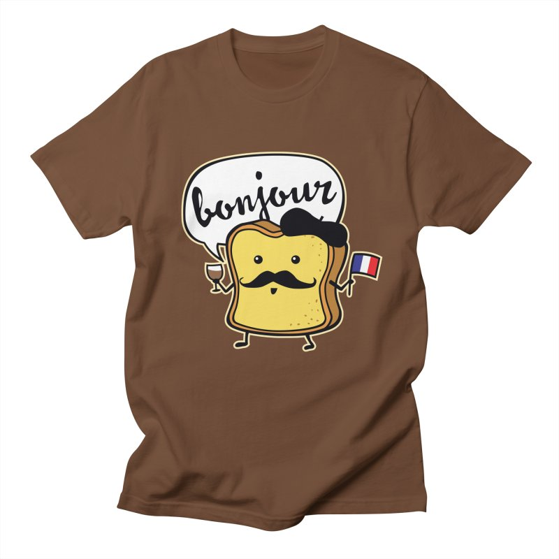 French Toast in Men's T-Shirt Brown by detourshirts's Artist Shop