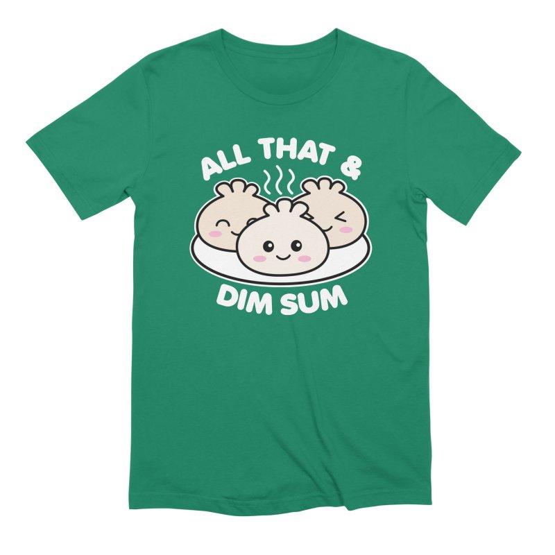 All That & Dim Sum Men's Extra Soft T-Shirt by Detour Shirt's Artist Shop