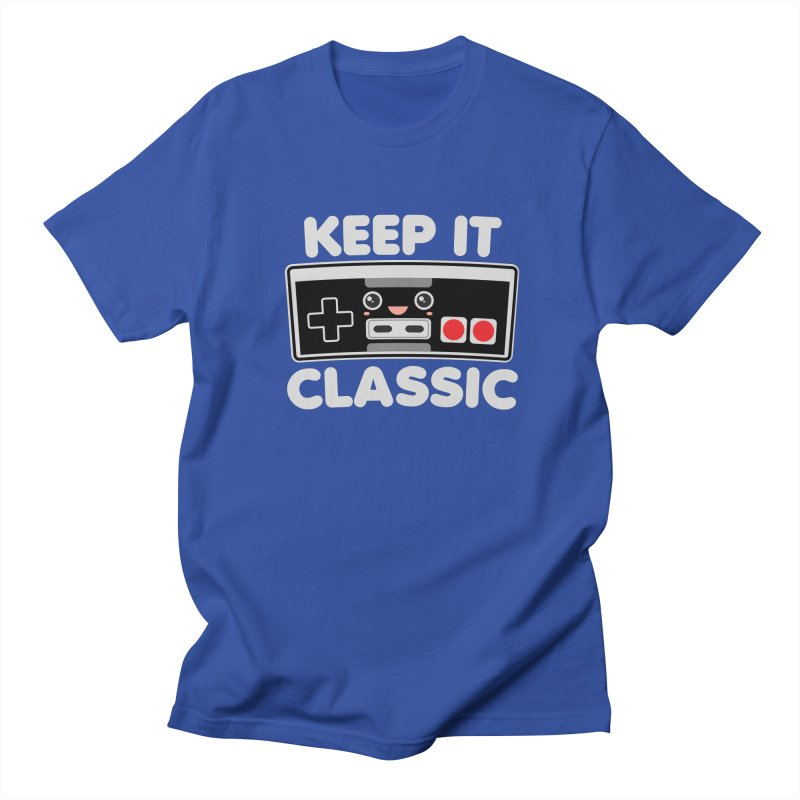 Keep It Classic Men's Regular T-Shirt by Detour Shirt's Artist Shop