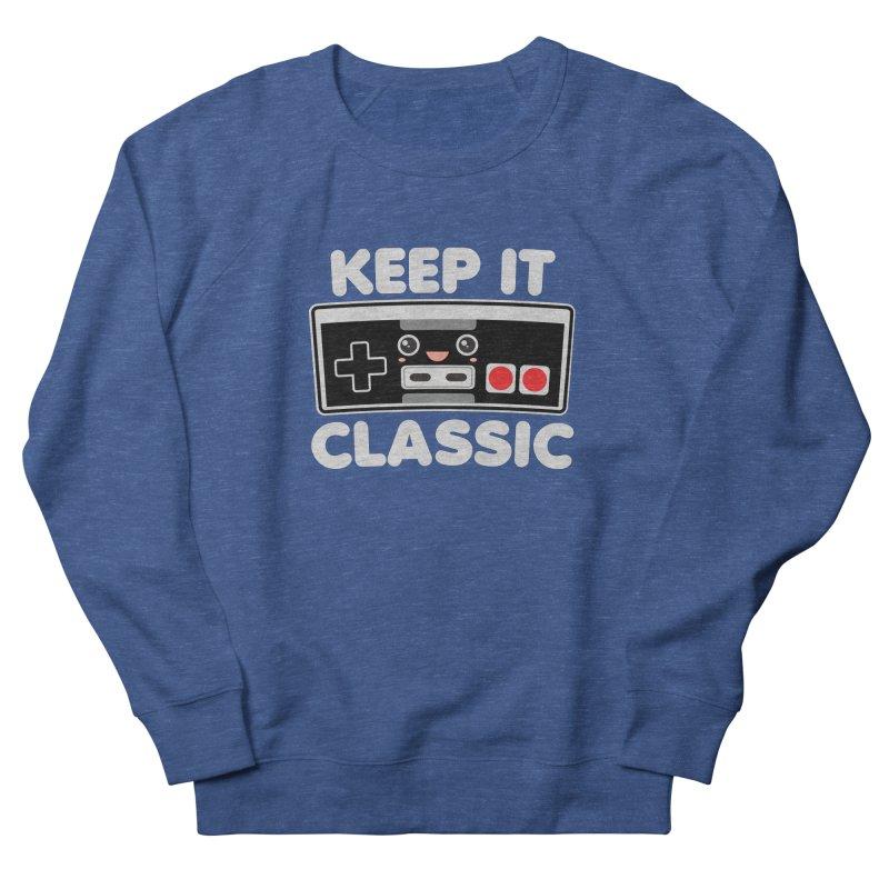 Keep It Classic Women's French Terry Sweatshirt by Detour Shirt's Artist Shop