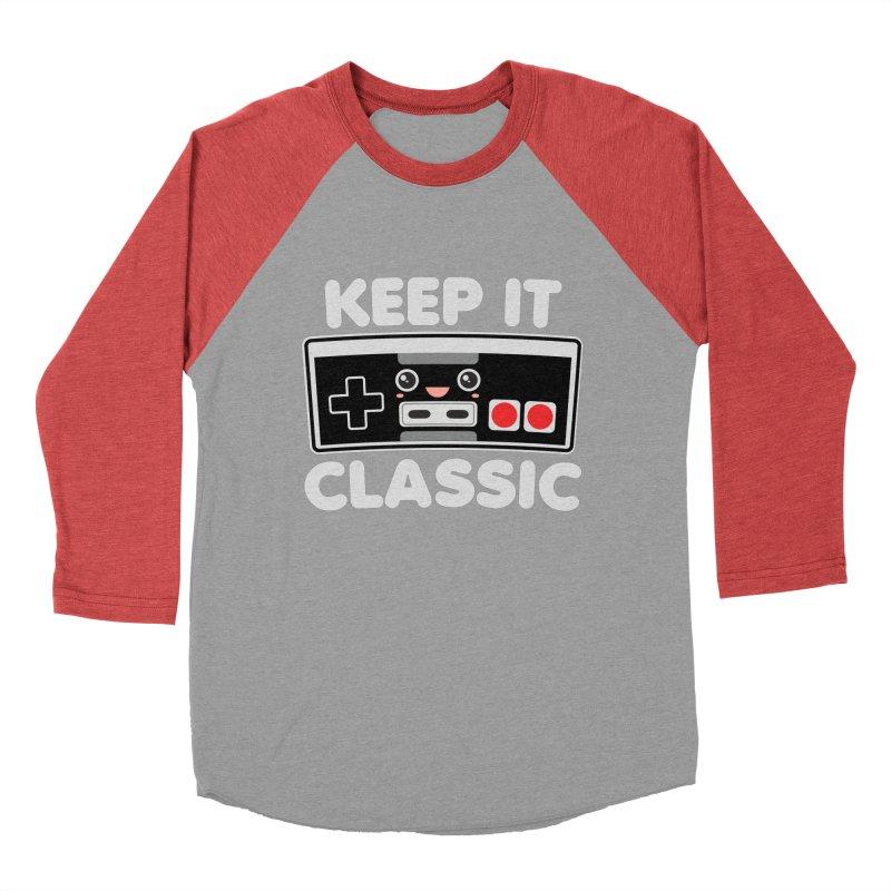 Keep It Classic Men's Baseball Triblend Longsleeve T-Shirt by Detour Shirt's Artist Shop