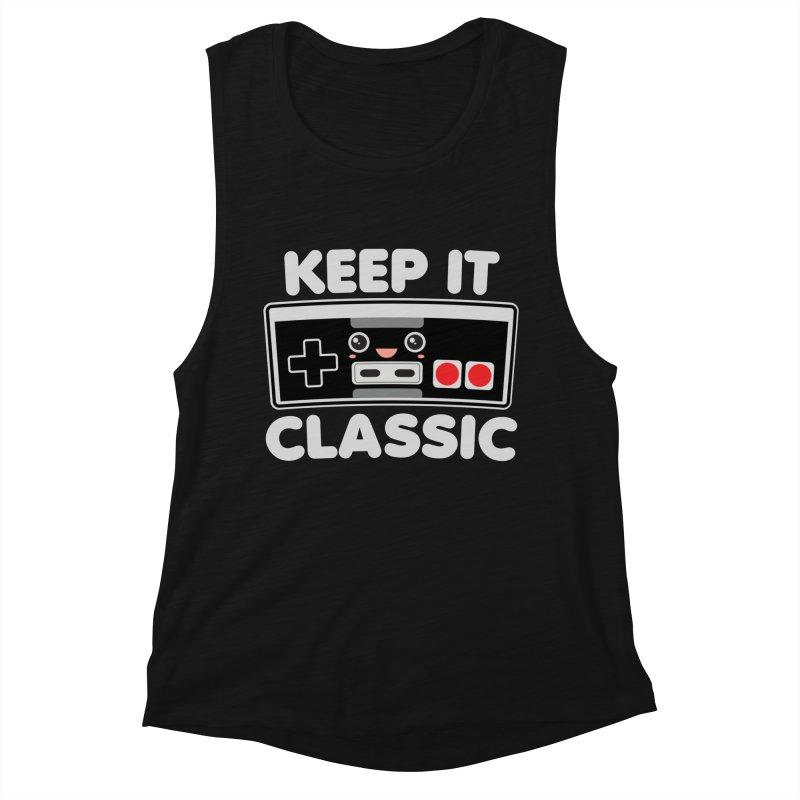 Keep It Classic Women's Muscle Tank by Detour Shirt's Artist Shop