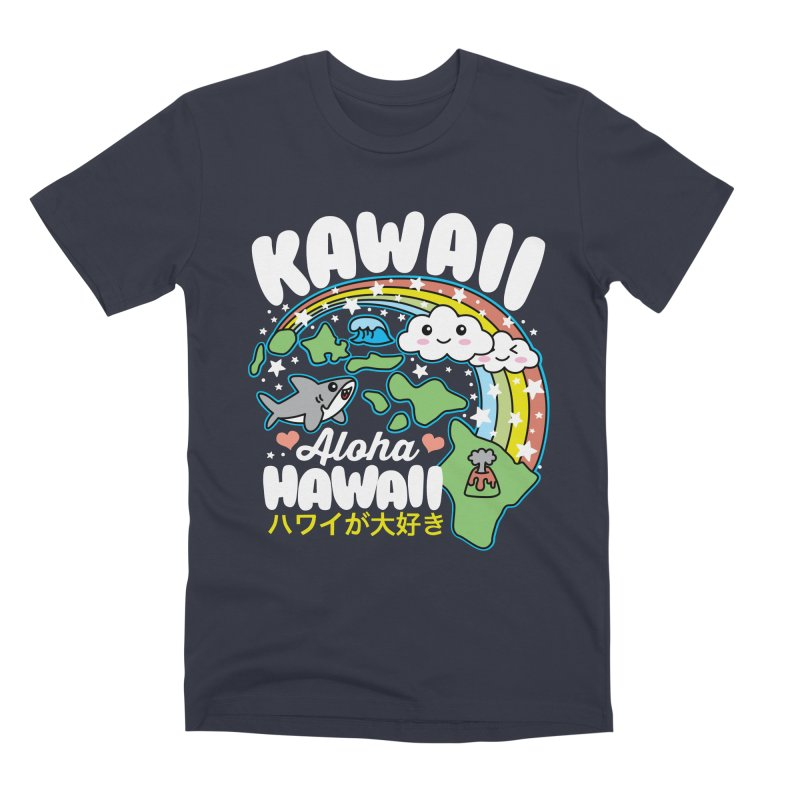 Kawaii Hawaii Men's Premium T-Shirt by Detour Shirt's Artist Shop