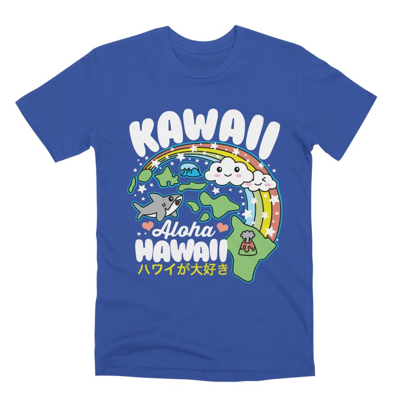 Kawaii Hawaii Men's Premium T-Shirt by Detour Shirt's Artist Shop
