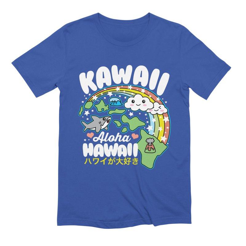 Kawaii Hawaii Men's Extra Soft T-Shirt by Detour Shirt's Artist Shop