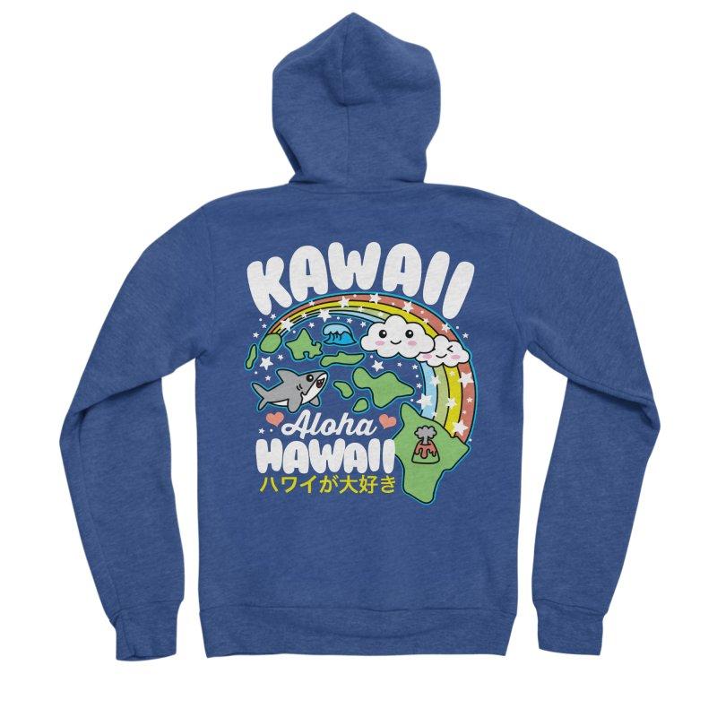Kawaii Hawaii Women's Sponge Fleece Zip-Up Hoody by Detour Shirt's Artist Shop
