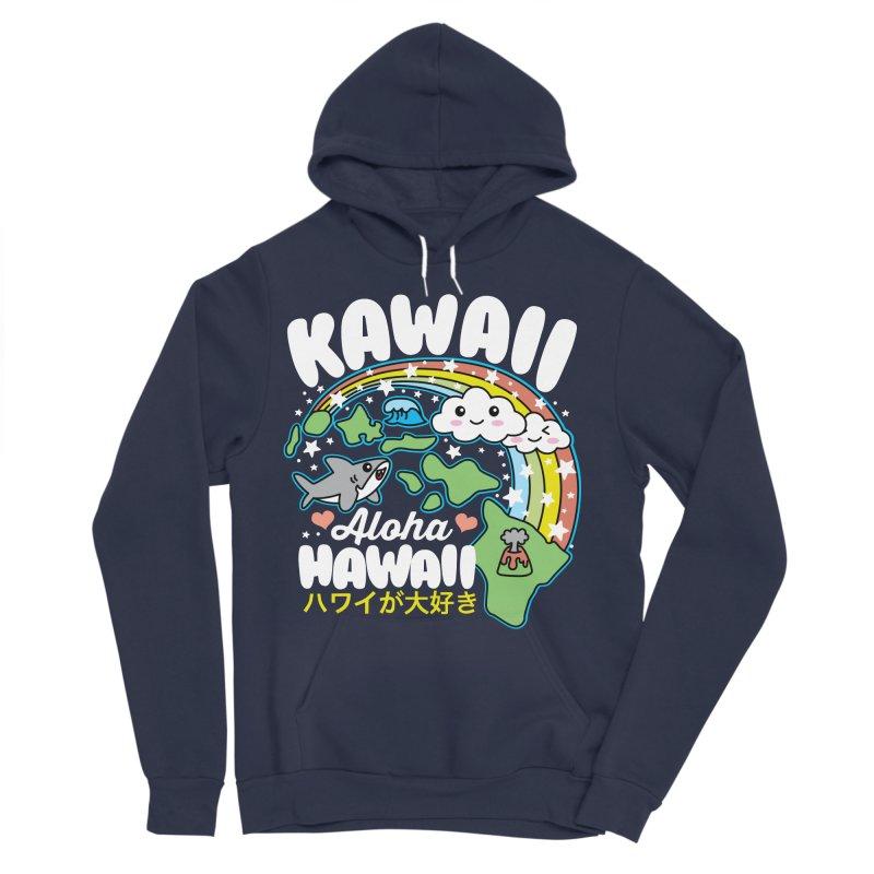 Kawaii Hawaii Women's Sponge Fleece Pullover Hoody by Detour Shirt's Artist Shop