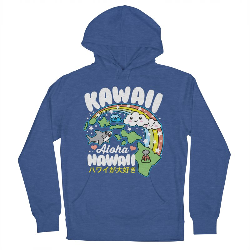 Kawaii Hawaii Women's French Terry Pullover Hoody by Detour Shirt's Artist Shop