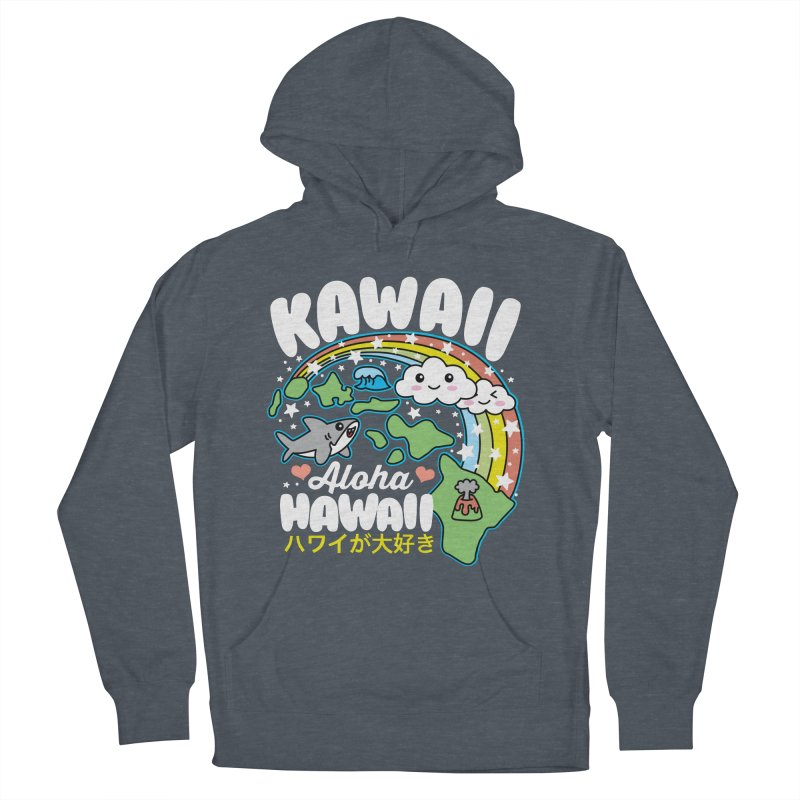 Kawaii Hawaii Men's French Terry Pullover Hoody by Detour Shirt's Artist Shop