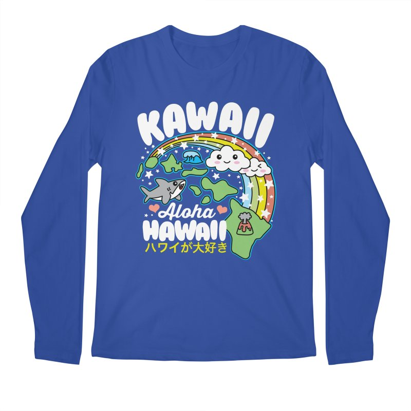 Kawaii Hawaii Men's Regular Longsleeve T-Shirt by Detour Shirt's Artist Shop
