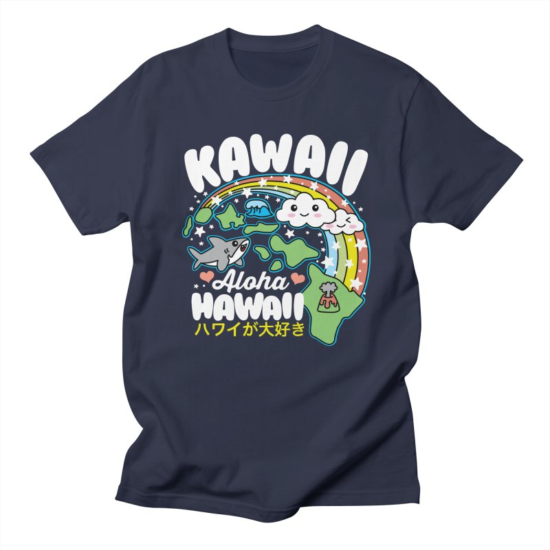Kawaii Hawaii Women's Regular Unisex T-Shirt by Detour Shirt's Artist Shop