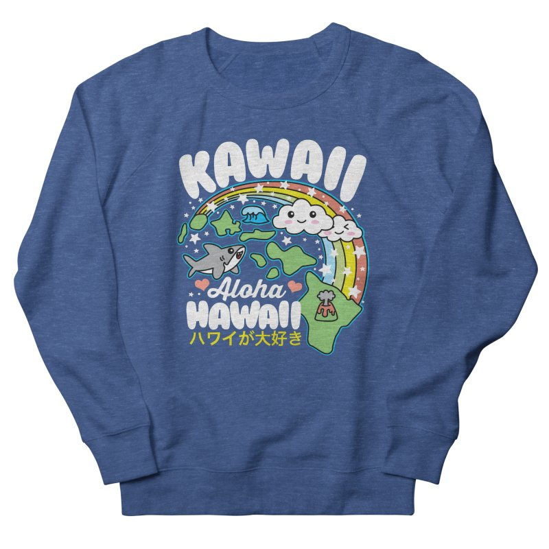 Kawaii Hawaii Women's French Terry Sweatshirt by Detour Shirt's Artist Shop