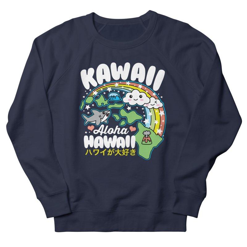 Kawaii Hawaii Women's French Terry Sweatshirt by Detour Shirt's Artist Shop