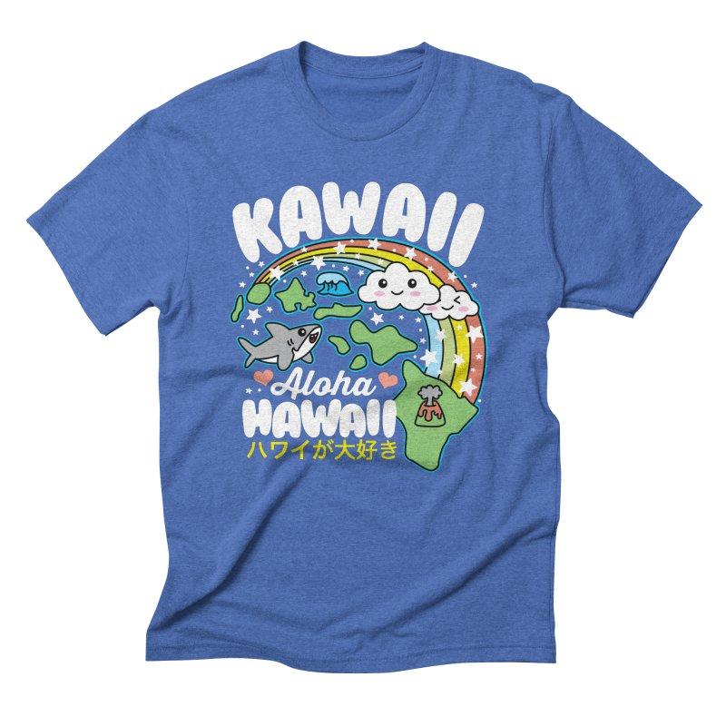 Kawaii Hawaii Men's Triblend T-Shirt by Detour Shirt's Artist Shop