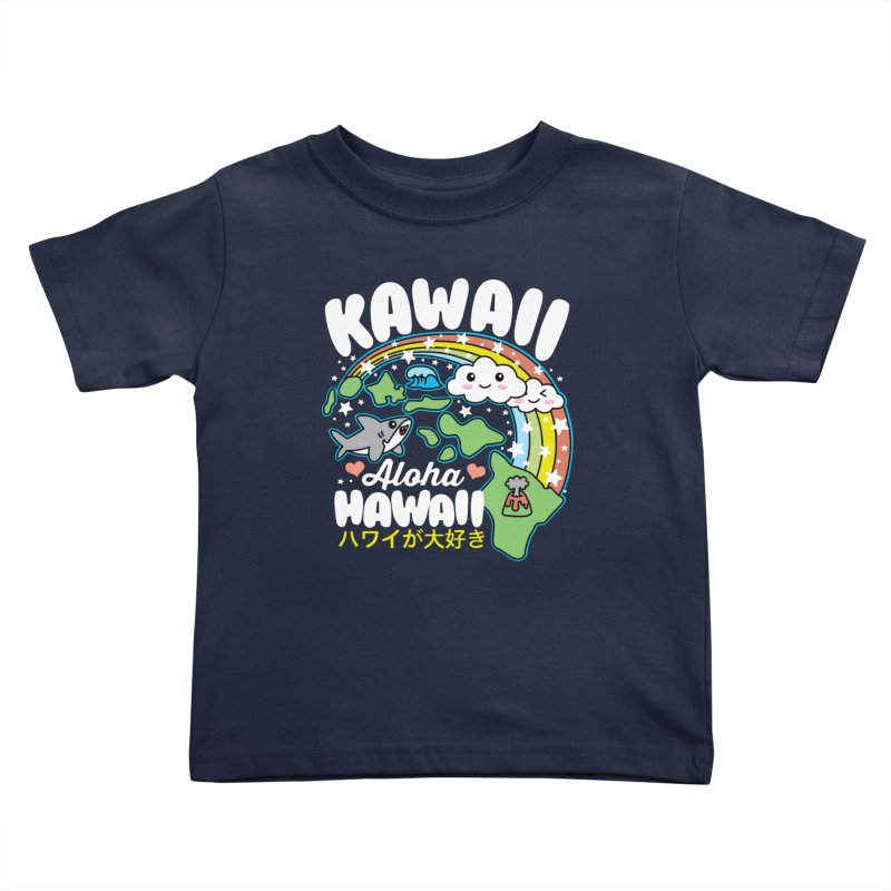 Kawaii Hawaii Kids Toddler T-Shirt by Detour Shirt's Artist Shop