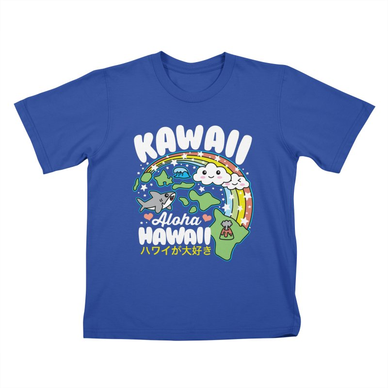 Kawaii Hawaii Kids T-Shirt by Detour Shirt's Artist Shop