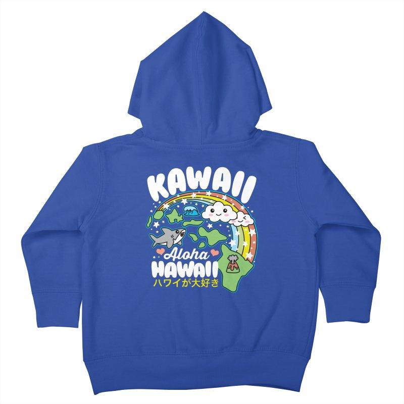 Kawaii Hawaii Kids Toddler Zip-Up Hoody by Detour Shirt's Artist Shop
