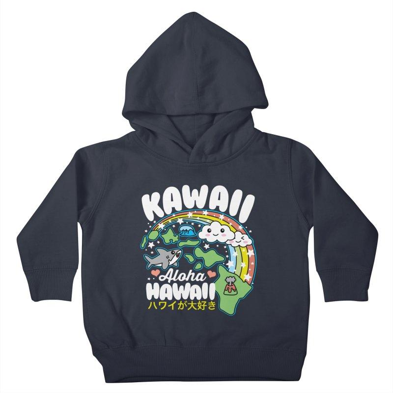 Kawaii Hawaii Kids Toddler Pullover Hoody by Detour Shirt's Artist Shop