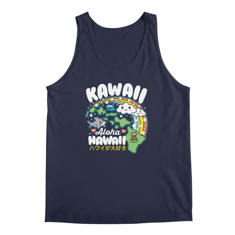 Kawaii Hawaii Men's Regular Tank by Detour Shirt's Artist Shop