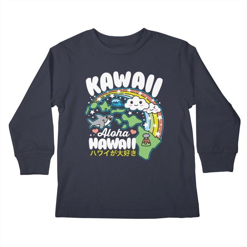 Kawaii Hawaii Kids Longsleeve T-Shirt by Detour Shirt's Artist Shop