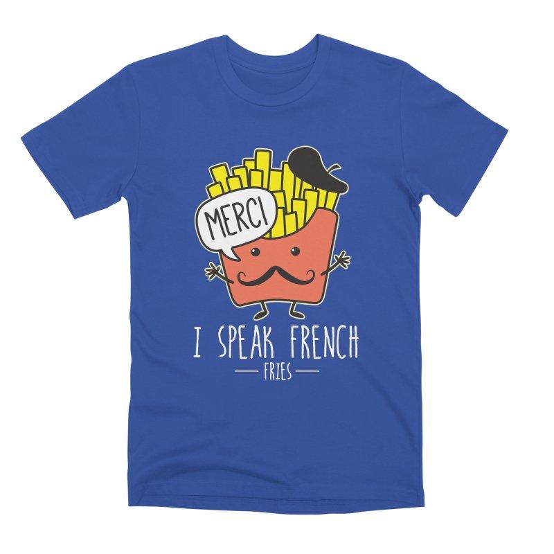 I Speak French Fries Men's T-Shirt by Detour Shirt's Artist Shop
