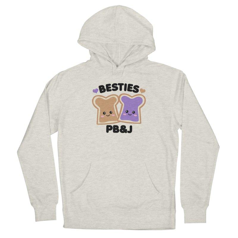 Besties PB&J Kawaii Women's French Terry Pullover Hoody by Detour Shirt's Artist Shop