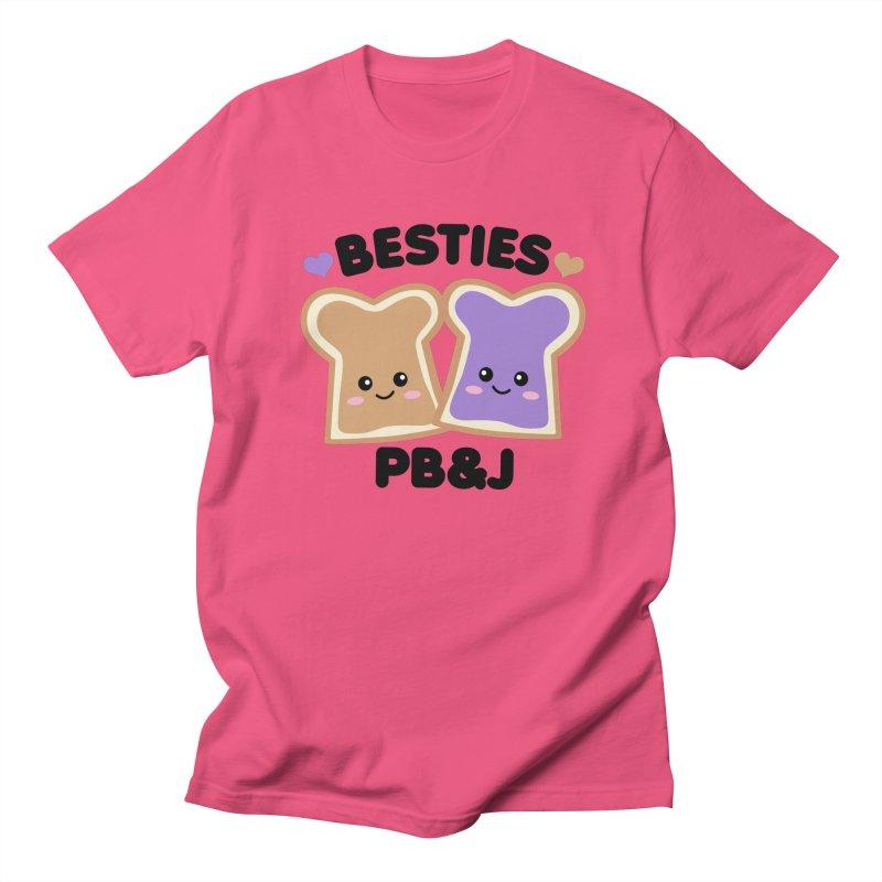 Besties PB&J Kawaii Women's Regular Unisex T-Shirt by Detour Shirt's Artist Shop