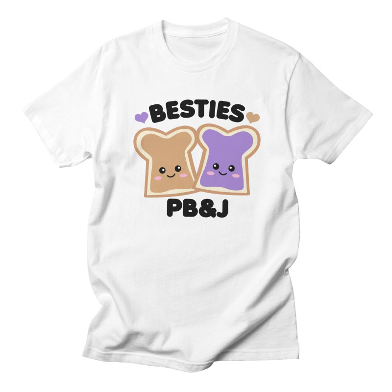 Besties PB&J Kawaii Women's Regular Unisex T-Shirt by Detour Shirt's Artist Shop