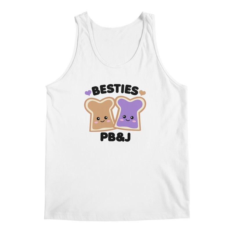 Besties PB&J Kawaii Men's Regular Tank by Detour Shirt's Artist Shop