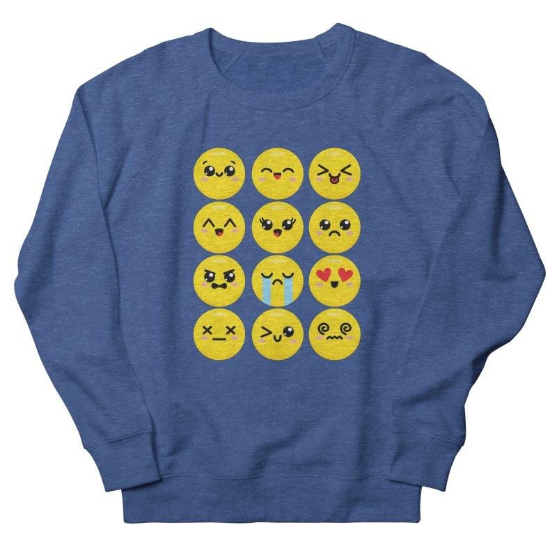 Kawaii Emojis Women's Sweatshirt by Detour Shirt's Artist Shop