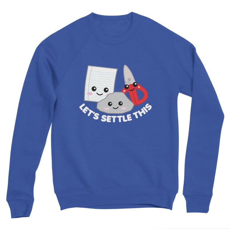 Let's Settle This Women's Sweatshirt by Detour Shirt's Artist Shop