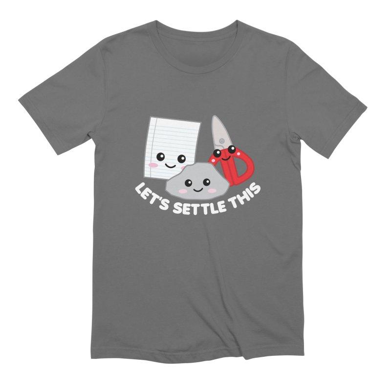 Let's Settle This Men's T-Shirt by Detour Shirt's Artist Shop