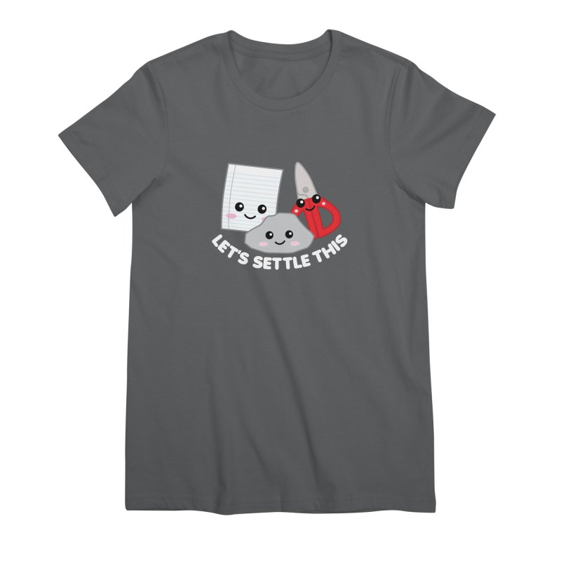 Let's Settle This Women's Premium T-Shirt by Detour Shirt's Artist Shop