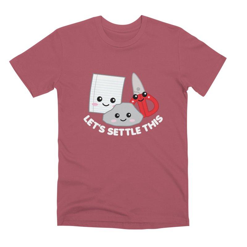 Let's Settle This Men's Premium T-Shirt by Detour Shirt's Artist Shop