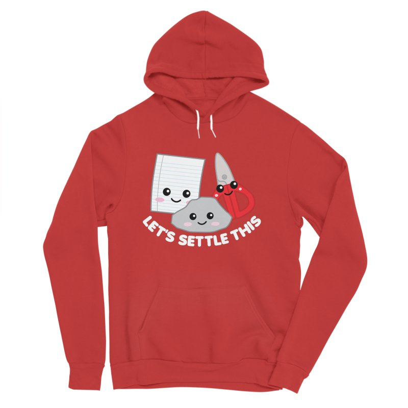 Let's Settle This Women's Sponge Fleece Pullover Hoody by Detour Shirt's Artist Shop