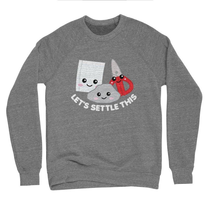 Let's Settle This Women's Sponge Fleece Sweatshirt by Detour Shirt's Artist Shop