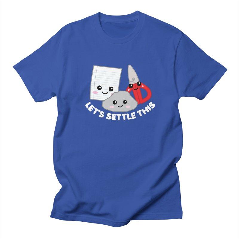 Let's Settle This Men's Regular T-Shirt by Detour Shirt's Artist Shop