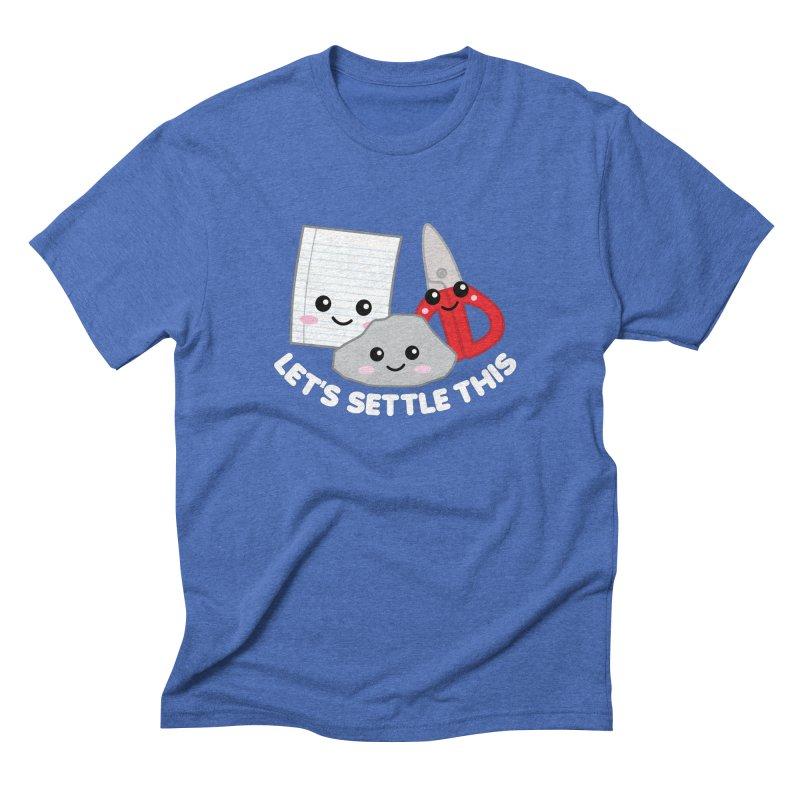 Let's Settle This Men's Triblend T-Shirt by Detour Shirt's Artist Shop