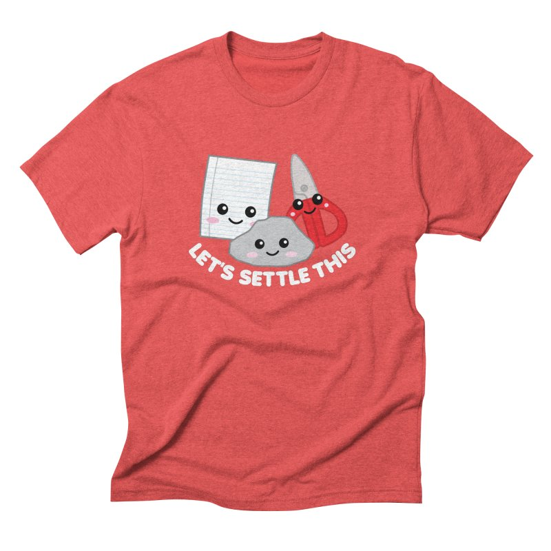 Let's Settle This Men's Triblend T-Shirt by Detour Shirt's Artist Shop